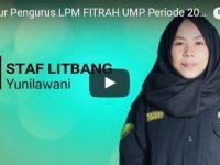 Sturuktur Pengurus LPM FITRAH UMP Periode 2017-2018