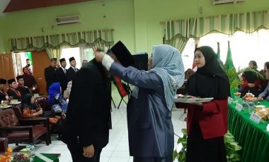 199 Mahasiswa FH UMP Ikuti Prosesi Yudisium