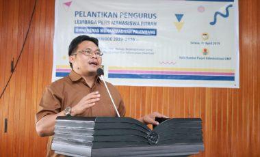Wakil Rektor III : Sebagai Media Kampus Ini Peran LPM Fitrah UMP