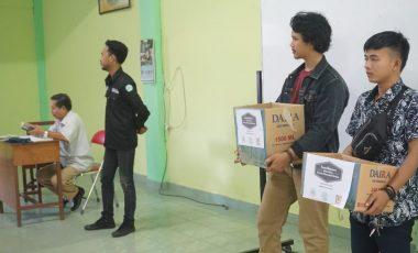 Forum Mahasiswa FH UMP Salurkan Bantuan Untuk Bengkulu