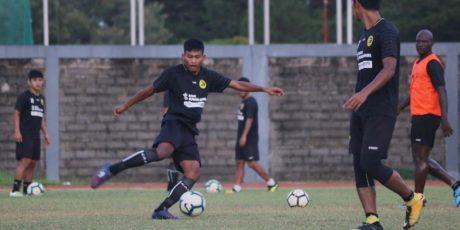 Meski Turun Kasta Liga 2, Sriwijaya FC Tetap Semangat Latihan
