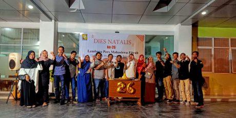 Dies Natalis LPM Fitrah UMP Ke-26