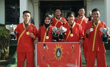 Enam Medali dari UKM Tapak Suci