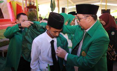 Ribuan Mahasiswa Baru Mengikuti PK2MB UMP, Ini Keinginan Rektor Untuk Mahasiswanya