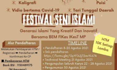 BEM FIKesT MP Gelar Perlombaan Bertema Islami