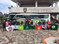 DPRD SUMSEL Berangkatkan Aliansi Mahasiswa SUMSEL Ke Jakarta